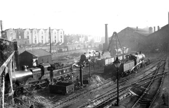 A view of Bristol Barrow Road Shed from the Midland Railway Study Centre collection
