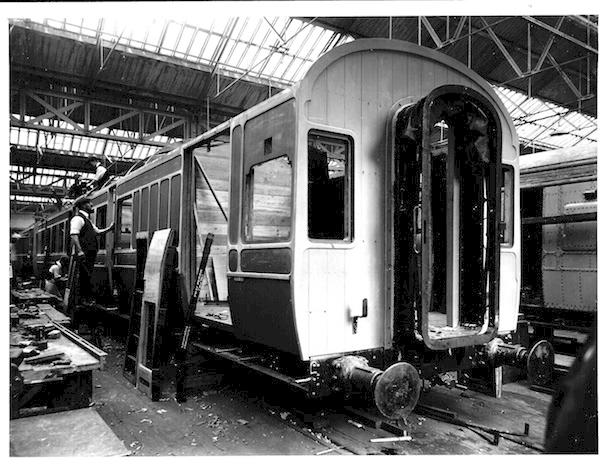 Carriage Building Midland Railway Style